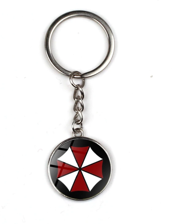 Klíčenka Resident Evil - Umbrella Corporation (8) st - 2. jakost
