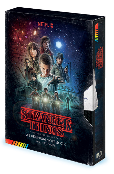 Blok / zápisník Stranger Things - VHS