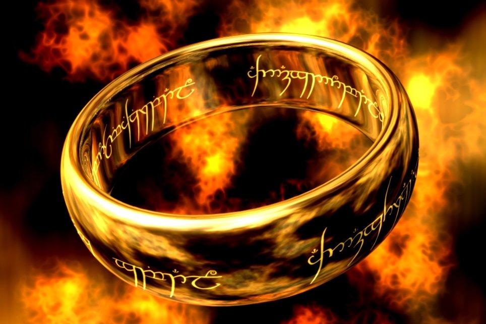 Prstýnek Pán prstenů (Lord of the Rings)