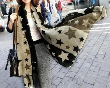 Šátek s hvězdičkami