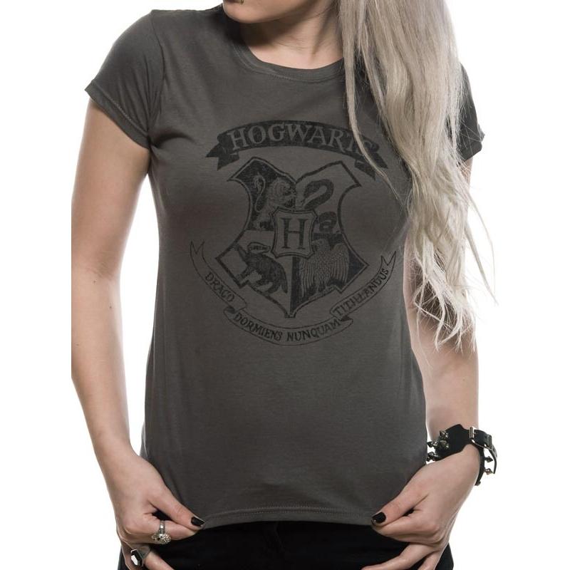 Dámské tričko Harry Potter - Bradavice  c69c53abb4