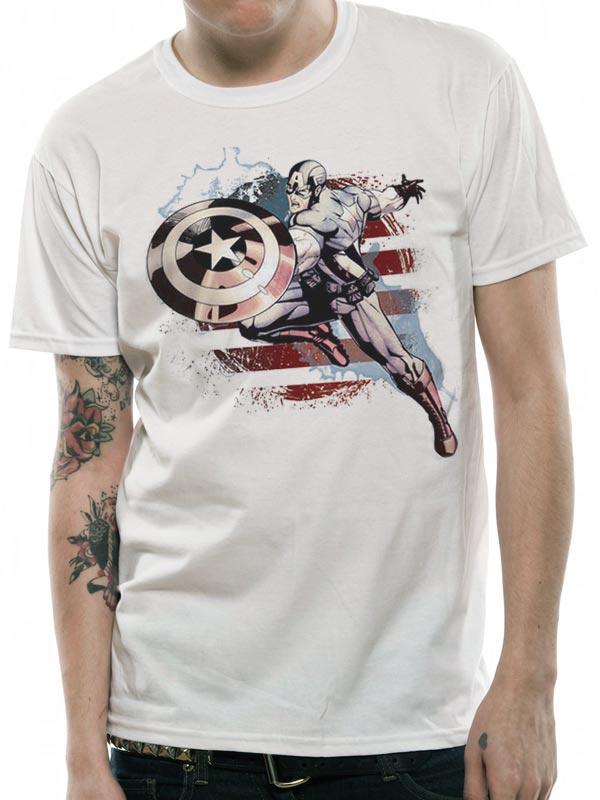 91386d49c91f Pánské tričko Captain America (3)