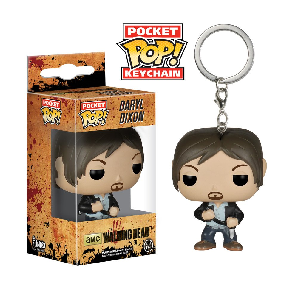 Klíčenka The Walking Dead - Daryl Dixon (Funko)