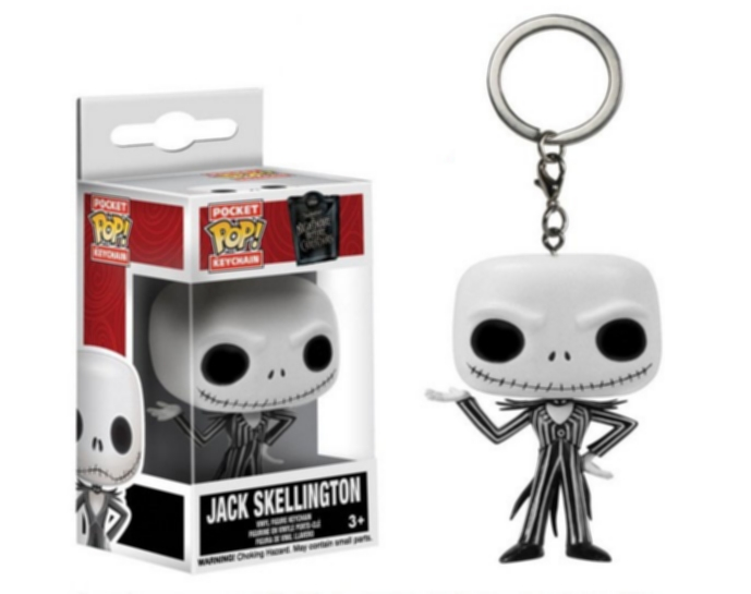 Klíčenka Nightmare Before Christmas - Jack Skellington (Funko)