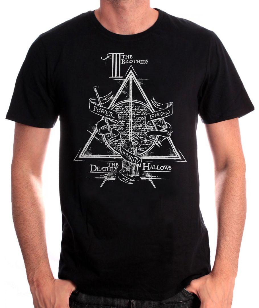 41bd4d900c7 Pánské tričko Harry Potter - Relikvie smrti
