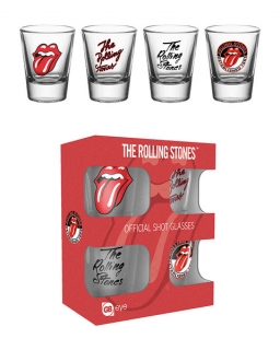 Set 4 sklenic The Rolling Stones