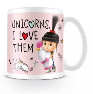 Hrnek Já padouch - Unicorns I Love them