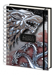 Blok Hra o Trůny (Game of Thrones) Stark & Targaryen