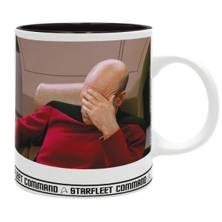 Hrnek Star Trek - Facepalm
