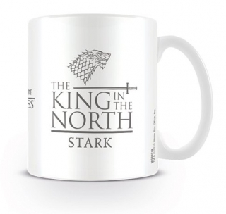 Hrnek Hra o Trůny - Game of Thrones - Stark - King in the North