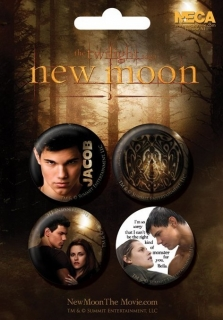 Set 4 placek Stmívání (Twilight: New Moon) - Jacob
