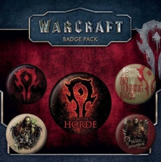 Set 5 placek Warcraft