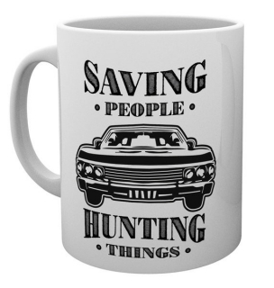 Hrnek Lovci duchů (Supernatural) - Hunting Things, Saving people