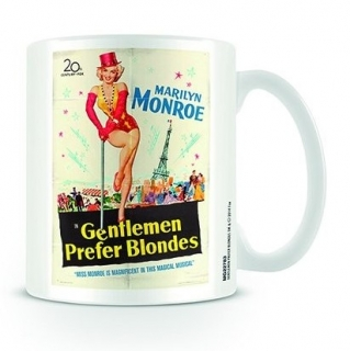 Hrnek Marilyn Monroe - Gentlemen prefer blonds