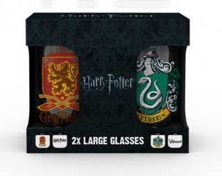 Set 2 sklenice Harry Potter