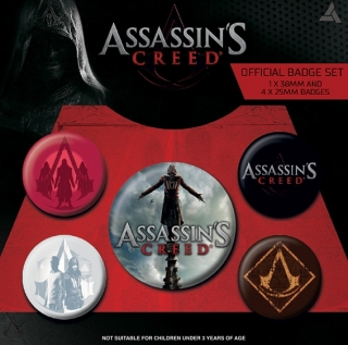 Set 5 placek Assassin's Creed