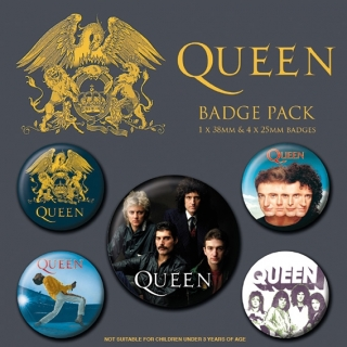 Set 5 placek Queen